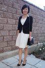 Ivory-lace-dress-mango-dress-black-unknown-brand-jacket-black-old-fake-my-au