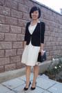 Ivory-lace-dress-mango-dress-black-unknown-brand-jacket-black-old-fake-my-au