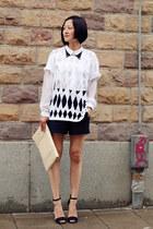 DIY t-shirt - hm shirt - Zara sandals