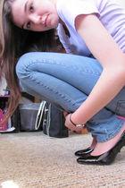 purple Target shirt - delias jeans - black payless shoes