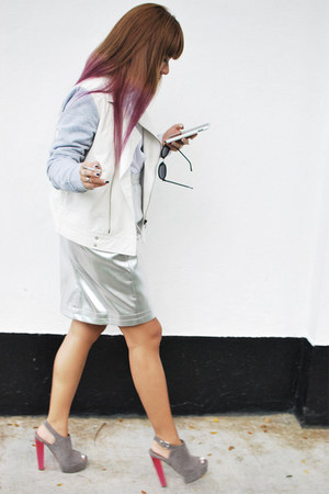 asos ring - Cheap Monday sunglasses - Topshop heels