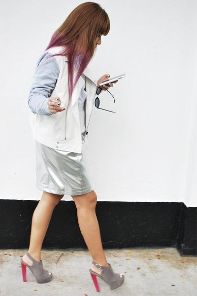 asos ring - Cheap Monday sunglasses - Topshop heels