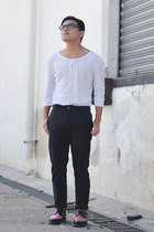 arien Dr Martens shoes - Zara shirt - slim fit asos pants