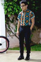 Lura shirt - Dr Martens boots - asoscom pants