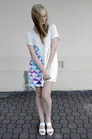 white sabo skirt dress