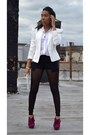 Leggings-blazer-pumps