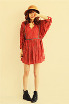 ruby red dress JAMYNANING9 dress