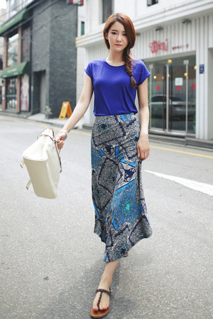 blue skirt JAMYJADE skirt