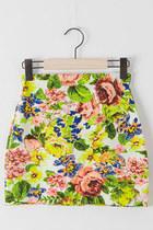 chartreuse skirt JAMYPippin skirt