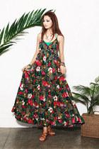 crimson dress JAMYStyle by shez dress