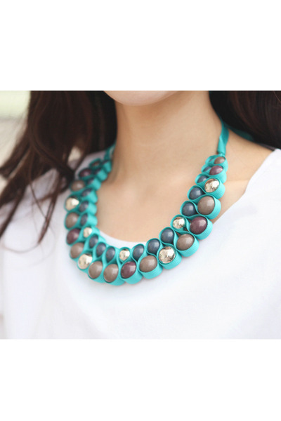 JAMYPinkboll necklace