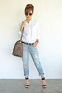 Gap-jeans-gap-shirt-keepall-ebene-louis-vuitton-bag-zara-heels-zara-heels