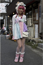 baby doll style 6  DokiDoki dress - 6  DokiDoki boots