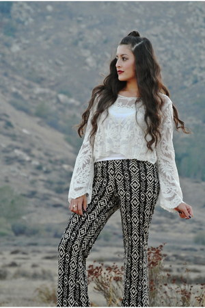 TJ Maxx top - Forever 21 pants