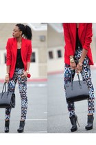 Zara pants - Aldo boots - Blazer blazer - Aldo bag