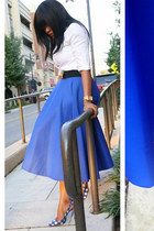 full skirt asos skirt - Zara shirt