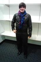 Carbon scarf - Carbon jacket