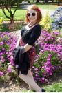 Black-target-dress-black-target-shoes-pink-forever-21-accessories-black-ko