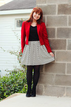 red Ralph Lauren blazer - black Xhileration boots