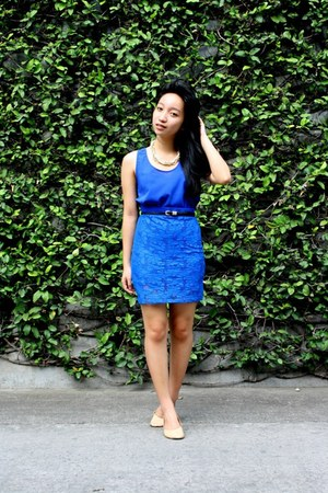 blue Bayo skirt - blue Oxygen top