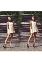 new look heels - new look dress