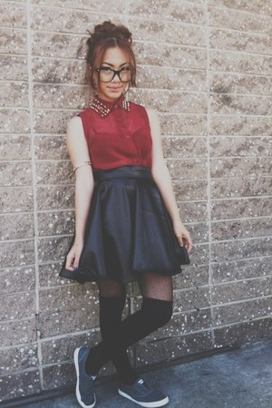 NA skirt - AX Paris blouse