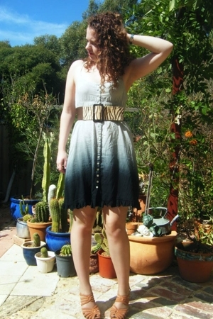 bardot dress - Bleeker St Belts belt - Wittner shoes