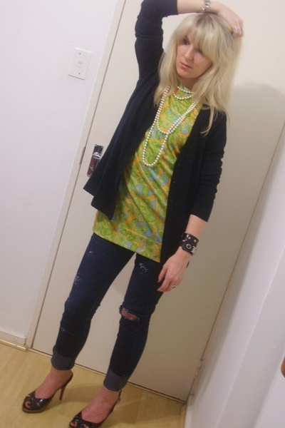 pnp sweater - vintage top - Edgars jeans - mr p shoes