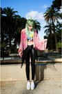 White-choies-shoes-bubble-gum-kimono-ette-jacket