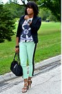 Black-jnby-jacket-white-urban-outfitters-t-shirt-stripe-pants
