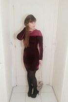 velvet Choies dress