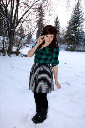 Forever 21 top - Forever 21 skirt - H & M tights