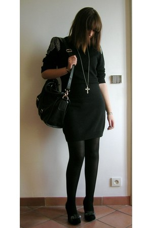 H&M Trend dress - Irregular Choice shoes - Aphrodisiak Leather bag - fashionolog
