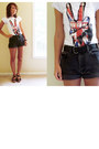 The-who-asos-shirt-black-high-waisted-vintage-calvin-klein-shorts