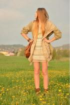 aztec Pimkie dress - Levis coat - Deichmann bag