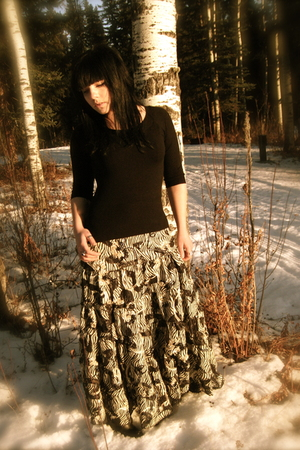 Fahionably Fitted skirt - Suzy Shier sweater
