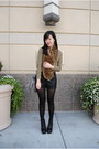 Platform-deena-ozzy-boots-j-crew-shirt-leopard-fur-h-m-scarf