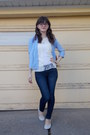 Heather-gray-suede-jcrew-shoes-navy-american-eagle-jeans