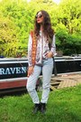 Chelsea-new-look-boots-mom-jeans-asos-jeans-vintage-jacket