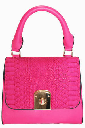hot pink shoulder bag unbranded bag