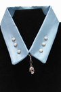Light Blue Jill Pineda Accessories