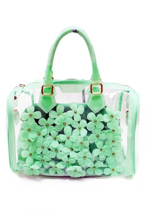 jelly flower unbranded bag