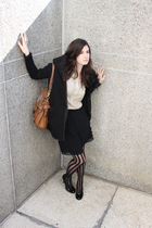 gruhche jacket - Dana Buchman skirt - Sofft shoes - Jcrew shirt - Ebay tights -
