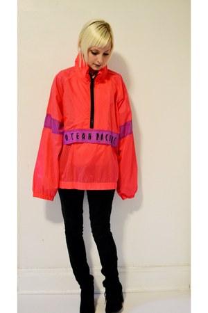 hot pink vintage jacket