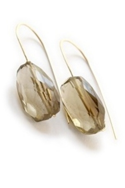 gold Joy O Designs earrings
