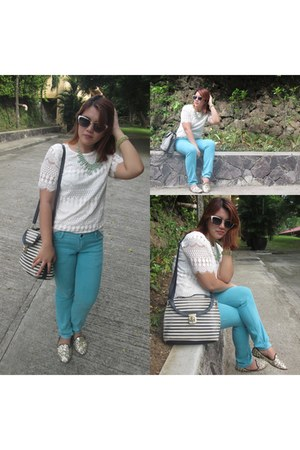 Pacific Blue sunglasses - Blog by Korea blouse