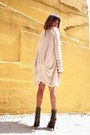 Off-white-bcbg-sweater-beige-knitted-ecote-sweater