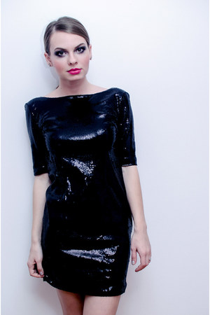 black Lefties dress