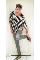 H&M t-shirt - Cheap Monday jeans - Swear shoes