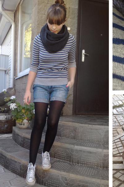 gray Massimo Dutti sweater